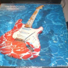 Discos de vinilo: LP THE SHADOWS - REFLECTION - POLYDOR UK 1990 VG+. Lote 68223585