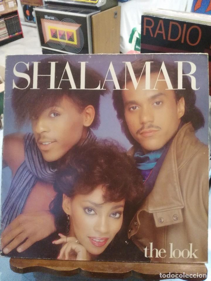 SHALAMAR - THE LOOK - LP. (Música - Discos - LP Vinilo - Funk, Soul y Black Music)