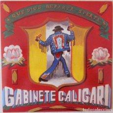 Discos de vinilo: GABINETE CALIGARI - QUE DIOS REPARTA SUERTE TRES CIPRESES - PROMOCIONAL - 1983. Lote 68225413