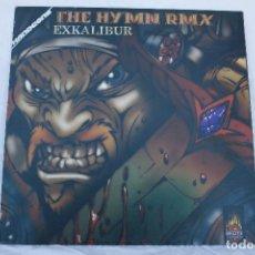 Discos de vinilo: DISCO VINILO LP THE HYMN RMX - ADN HARDCORE. Lote 68226621