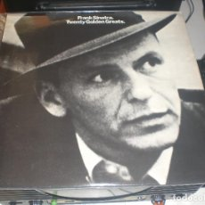 Discos de vinilo: LP FRANK SINATRA - TWENTY GOLDEN GREATS - CAPITOL UK 1978 VG+. Lote 68226665