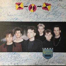 Discos de vinilo: COX - GOLDEN WATERS . 1987 EMI. Lote 68231661