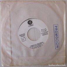 Discos de vinilo: LOQUILLO Y SUS AMIGOS - LOS TIEMPOS ESTAN CAMBIANDO PROMOCIONAL CÚSPIDE - 1981. Lote 112188182