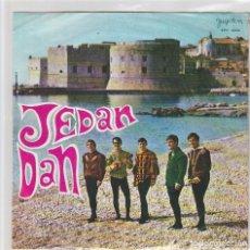 Discos de vinilo: DUBROVACKI TRUBADURI / JEAN DAN (EUROVISION YUGOSLAVIA 1968) + 3 (EP YUGOSLAVO). Lote 68241693