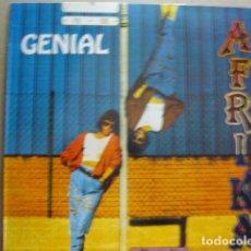 Discos de vinilo: AFRIKA. GENIAL. DIGIMUSIC & RECORDS LPA-5 LP 1992 SPAIN. Lote 68251365