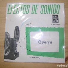 Discos de vinilo: EFECTOS DE SONIDO DE GUERRA. Lote 68252017