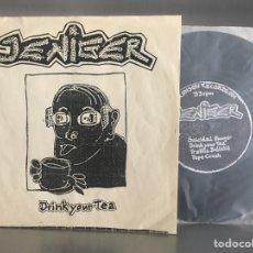 Discos de vinilo: JENIGER DRINK YOUR TEA. GRINDCORE, HARDCORE ALEMANIA. Lote 68285313