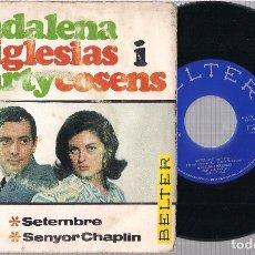 Discos de vinilo: MADALENA IGLESIAS I MARTYCOSENS. BELTER 1966.. Lote 68286405