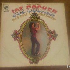 Discos de vinilo: JOE COCKER ( MAD DOGS & ENGLISHMEN ) DOBLE LP33 ENGLAND-1970 A&M RECORDS,MADE IN ENGLAND. Lote 68294257