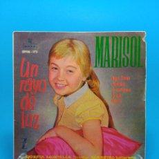 Discos de vinilo: MARISOL UN RAYO DE LUZ. Lote 68299065