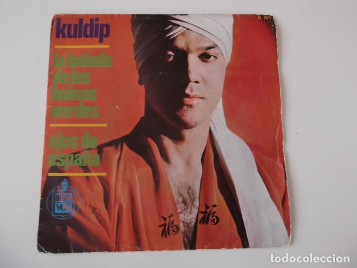 KULDIP - LA BALADA DE LOS BOINAS VERDES (Música - Discos - Singles Vinilo - Solistas Españoles de los 50 y 60)