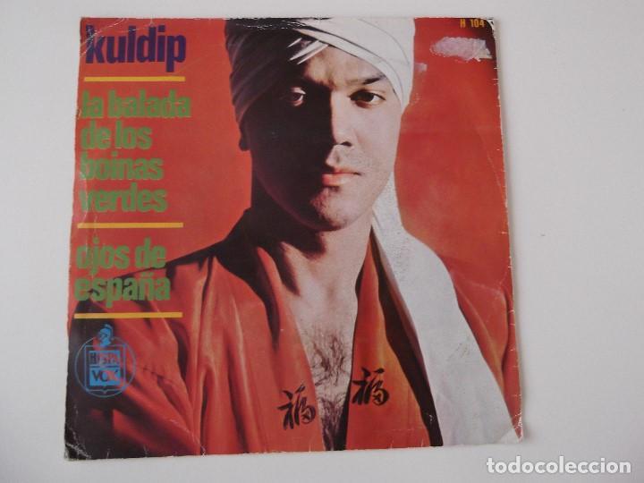 Discos de vinilo: KULDIP - La balada de los boinas verdes - Foto 2 - 68299657