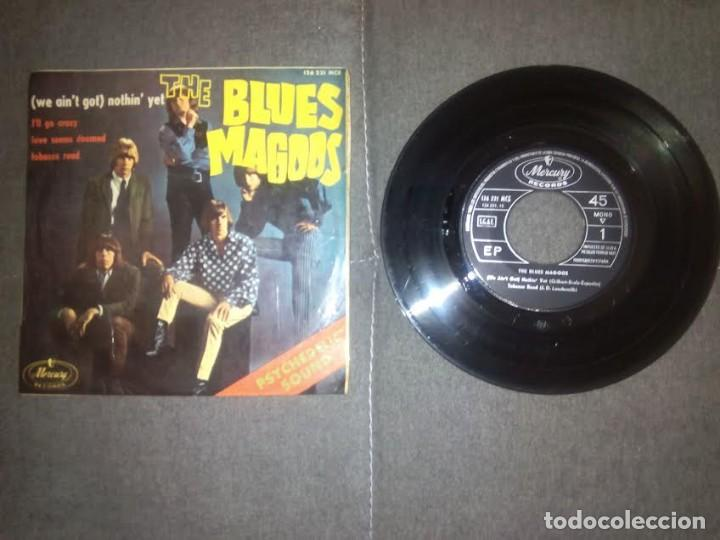 THE BLUES MAGOOS /( WE AIN'T GOT ) NOTHIN YET / EP 45 RPM / MERCURY SPAIN SPANISH ESPAÑA (Música - Discos de Vinilo - EPs - Pop - Rock Extranjero de los 50 y 60	)