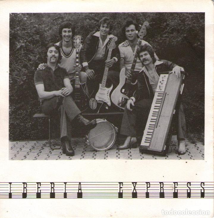 IBERIA EXPRESS - SINGLE VINILO 7'' - EDITADO EN ALEMANIA - SOL PLATEADO - TRISTEZA (Música - Discos - Singles Vinilo - Grupos Españoles 50 y 60)