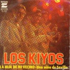 Discos de vinilo: X-1 -LOS KIYOS - SINGLE 1978 -. Lote 68322197