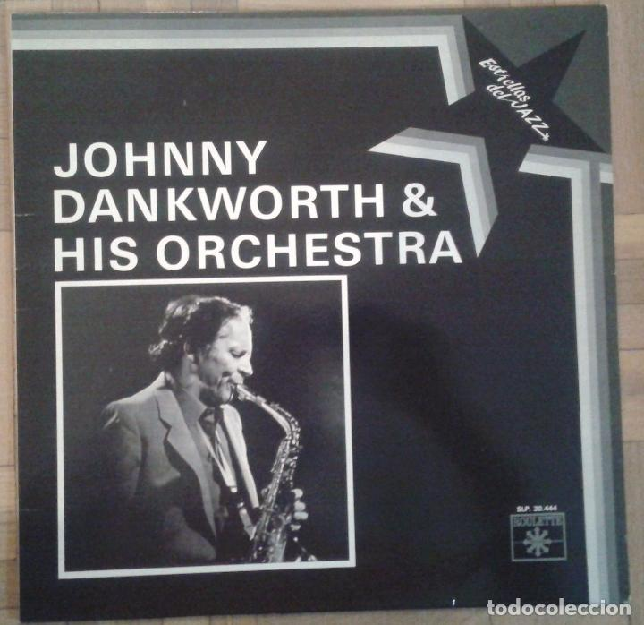 JOHNNY DANKWORTH & HIS ORCHESTRA - ESTRELLAS DEL JAZZ - ROULETTE SLP 30.444 - 1984 (Música - Discos - LP Vinilo - Jazz, Jazz-Rock, Blues y R&B)