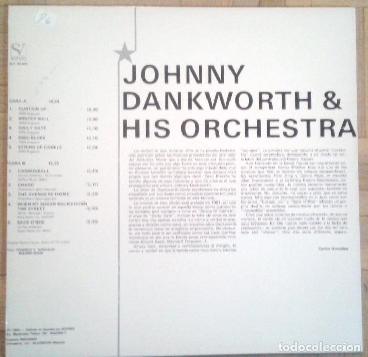 Discos de vinilo: Johnny Dankworth & his Orchestra - Estrellas del Jazz - Roulette SLP 30.444 - 1984 - Foto 2 - 68322221