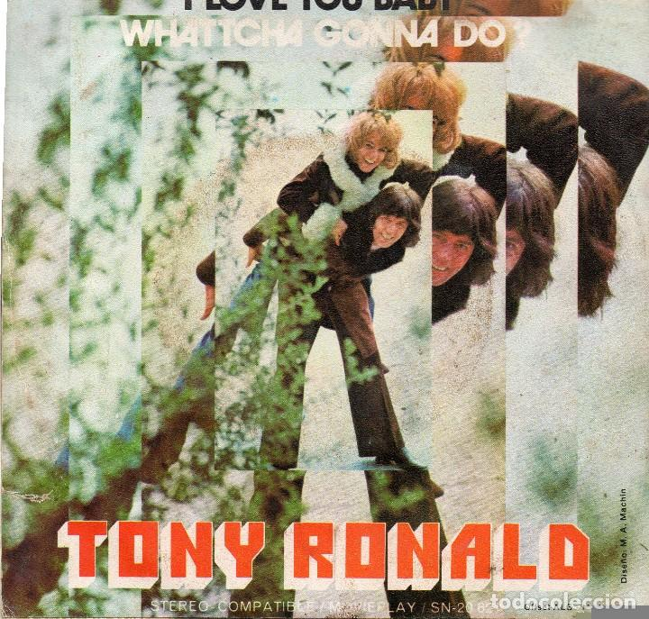 TONY RONALD SINGLE 1971 (Música - Discos - Singles Vinilo - Otros estilos)