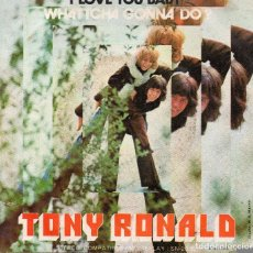Discos de vinilo: TONY RONALD SINGLE 1971. Lote 174619385