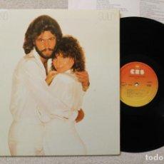 Discos de vinilo: BARBRA STREISAND GUILTY LP GATEFOLD COVER. Lote 68328905