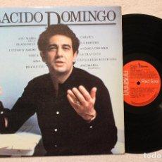 Discos de vinilo: PLACIDO DOMINGO AVE MARIA LP CAJA DE BARCELONA. Lote 68330833