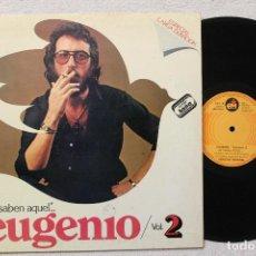 Discos de vinilo: EUGENIO EL SABEN AQUEL ...VOL 2 LP GATEFOLD COVER. Lote 68331777