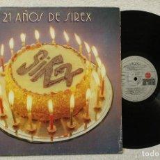 Discos de vinilo: 21 AÑOS DE SIREX LP GATEFOLD COVER. Lote 68331949