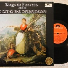 Discos de vinilo: DIEGO DE ACEVEDO SUITE EL SITIO DE ZARAGOZA LP GATEFOLD COVER DIRECTOR TORRES NAVARRO. Lote 68334949