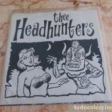 Discos de vinil: THEE HEADHUNTERS – JUNGLE LAW - SINGLE 1993 - GARAGE. Lote 68347161
