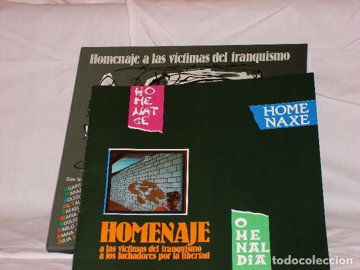 Discos de vinilo: HOMENAJE A LAS VÍCTIMAS DEL FRANQUISMO - Foto 2 - 68359449