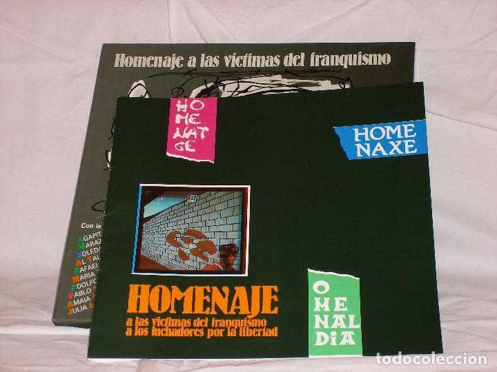 Discos de vinilo: HOMENAJE A LAS VÍCTIMAS DEL FRANQUISMO - Foto 8 - 68359449