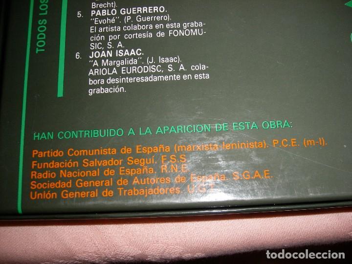 Discos de vinilo: HOMENAJE A LAS VÍCTIMAS DEL FRANQUISMO - Foto 9 - 68359449