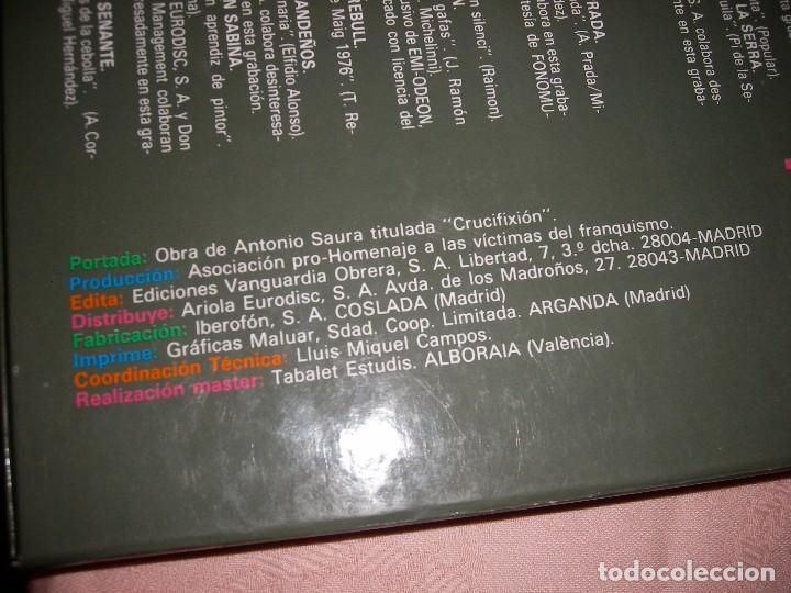 Discos de vinilo: HOMENAJE A LAS VÍCTIMAS DEL FRANQUISMO - Foto 10 - 68359449