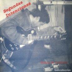 Discos de vinilo: SEGUNDAS INTENCIONES - VAMOS DE HOMBRES . 1991 SEPTIMA DOMINANTE RECORDS . Lote 68359909