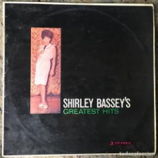 Discos de vinilo: SHIRLEY BASSEY - SHIRLEY BASSEY'S GREATEST HITS . NUEVA ZELANDA . Lote 68360305
