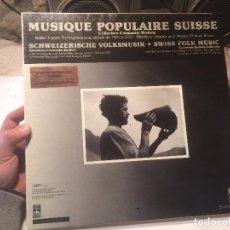 Discos de vinilo: ANTIGUO 2 VINILO MUSIQUE POPULAIR SUISSE, SCHWEIZERISCHE VOLKSMUSIK SWISS FOLK MUSIC . Lote 68379109