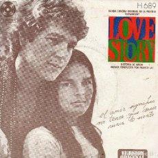Discos de vinilo: BSO DE LOVE STORY SINGLE 1971-. Lote 68379905