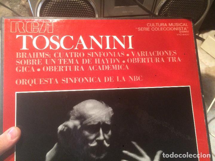 Discos de vinilo: Antiguo 3 vinilo Toscanini orquestra sinfonica de la NBC - Foto 2 - 68380533