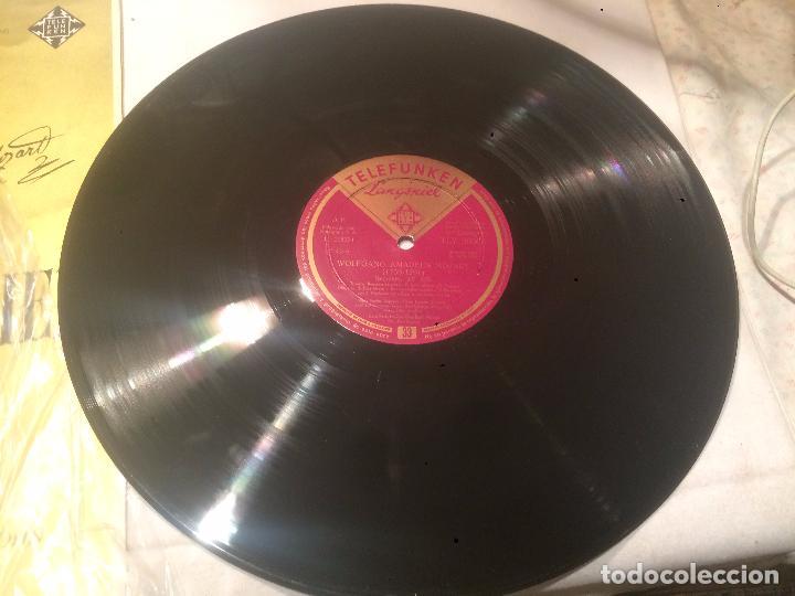 Discos de vinilo: Antiguo vinilo Requiem de Amadeo Mozart - Foto 3 - 68382685