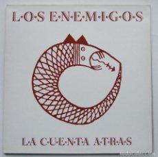 Discos de vinilo: LOS ENEMIGOS ALBUM LA CUENTA ATRAS LP VINILO GRABACIONES ACCIDENTALES. Lote 68388057