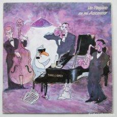 Discos de vinilo: UN PINGÜINO EN MI ASCENSOR ALBUM YANG & GINES LP VINILO DRO. Lote 152477820