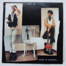 Discos de vinilo: WOM! A2 ALBUM RUIDO & CABARET LP VINILO IPS & CO DRO. Lote 68390353