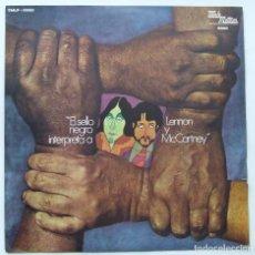 Discos de vinilo: BEATLES EL SELLO NEGRO INTERPRETA A LENNON Y MCCARTNEY TAMLA MOTOWN EDICION URUGUAY MONO. Lote 68398085