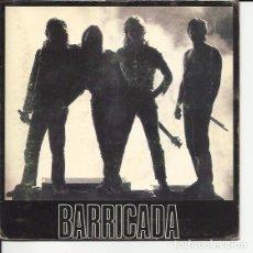 Disques de vinyle: BARRICADA SG MERCURY 1990 NO HAY TREGUA/ ANIMAL CALIENTE FIRMADO HARD ROCK METAL. Lote 68403562