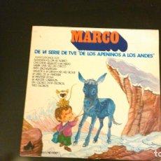 Discos de vinilo: MARCO - DE LOS APENINOS A LOS ANDES. Lote 68408581