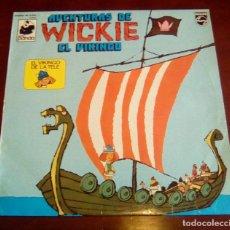 Discos de vinilo: AVENTURAS DE WICKIE EL VIKINGO - LP - 1975. Lote 68429357