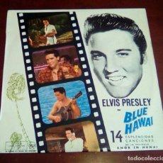 Discos de vinilo: ELVIS PRESLEY - BLUE HAWAI - BSO - LP - 1973. Lote 68433025