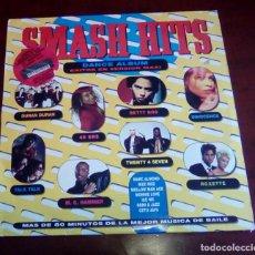 Disques de vinyle: SMASH HITS - DANCE ALBUM - DOBLE LP - 1990. Lote 68443301
