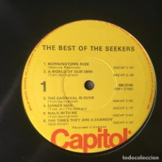 Discos de vinilo: THE SEEKERS - THE BEST OF THE SEEKERS . 1975 USA . Lote 68456193