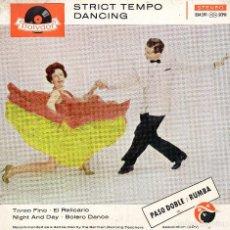 Discos de vinilo: HORST WENDE´S DANCE ORCHESTRA EP PASODOBLE RUMBA-. Lote 68470429